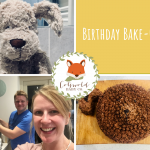 Blog about baking a first birthday cake - Cotswold Baby Co