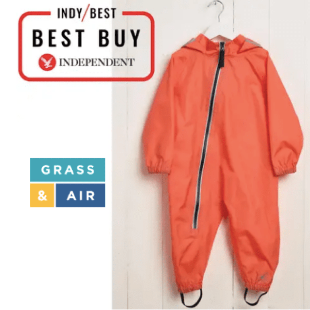 Independent Best Buy coral stomper suit by grass & air - cotswold baby co