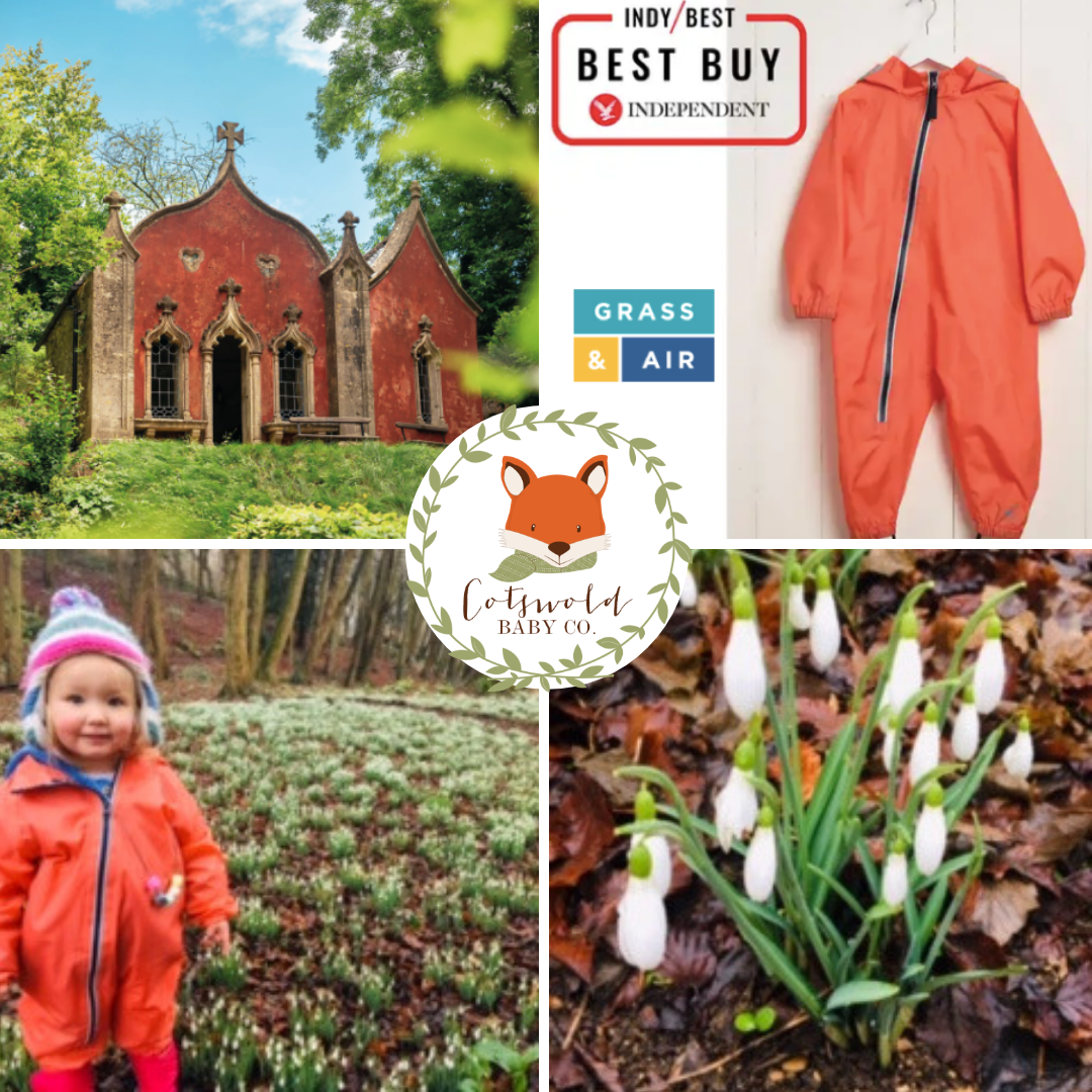 Snowdrops & Stomper Suits in the Cotswolds