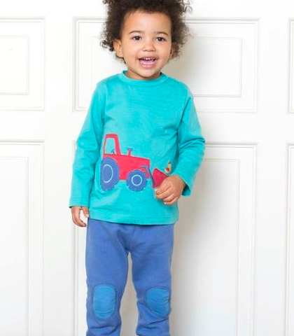 Tractor T-shirt and Jogger Set by Kite Clothing