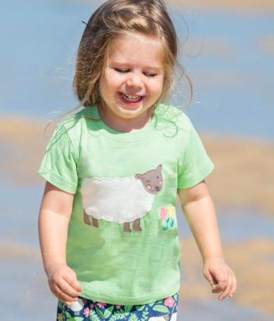 Sheep T-shirt by Frugi Organics