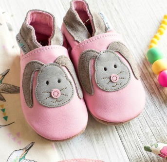 Bunny Leather Shoe by Inch Blue