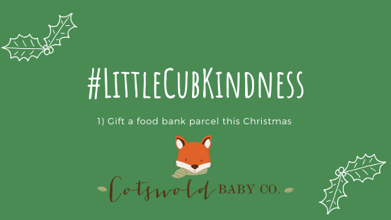 #littlecubkindness – Gift a Food Bank Parcel this Christmas