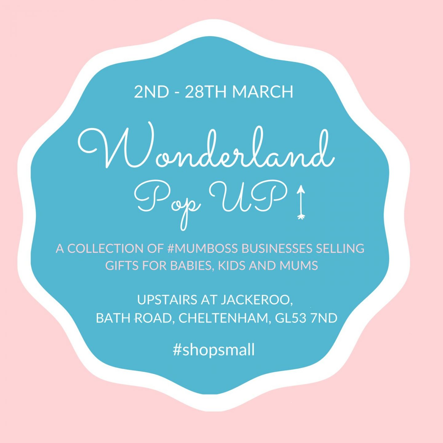 Wonderland Pops UP!                                         Shop small with a stunning collection of the coolest local Cotswold kids brands!
