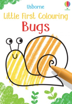 Bugs First Colouring Book by Usborne